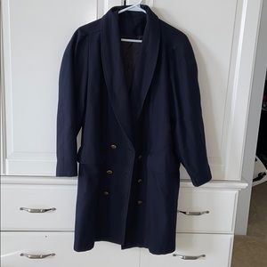 Vintage coat with button detailing